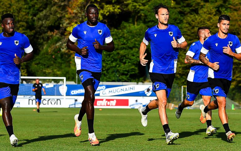 First training session of the new season
