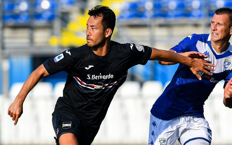 Yoshida delighted with Serie A experience at Samp