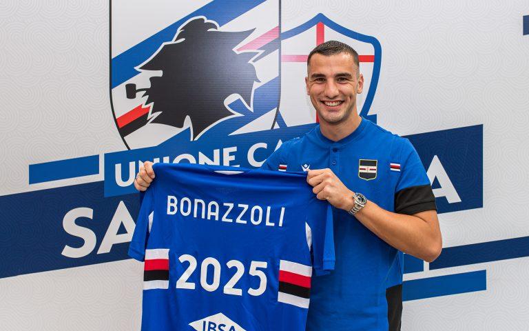 Bonazzoli seals new Sampdoria deal to 2025