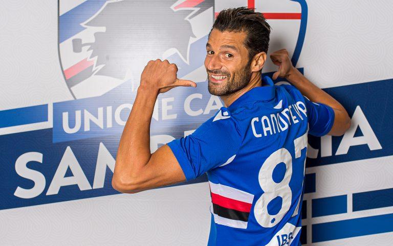 Candreva joins Sampdoria: winger signs on until 2024