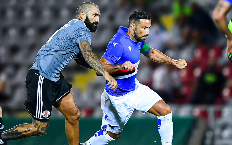 Quagliarella and Bonazzoli on target as first friendly ends all square