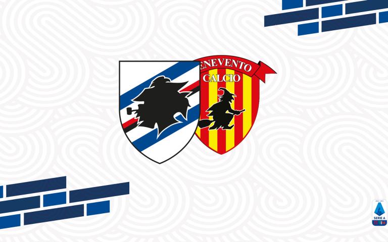 Opta Sports: il match program di Sampdoria-Benevento