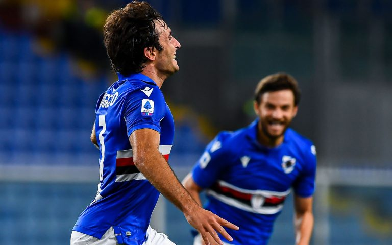 Augello, gol con dedica: «Per mio papà che è sempre accanto a me»