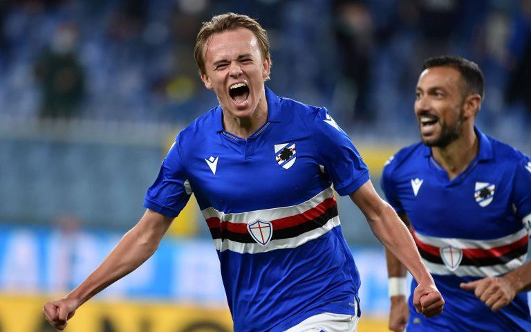 Damsgaard, che carica: «Stupendo segnare e vincere, avanti così»