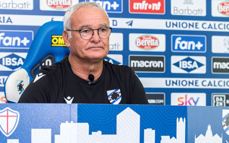 "Ranieri: ""Let's show everyone what Samp are really about"""