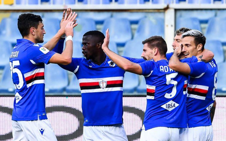 Coppa Italia, Sampdoria-Salernitana: la fotogallery