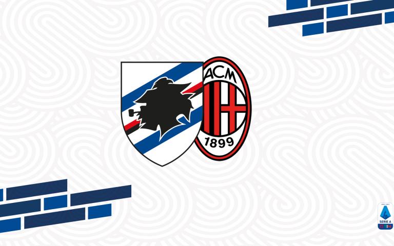 Sampdoria-Milan: info accrediti media e fotografi