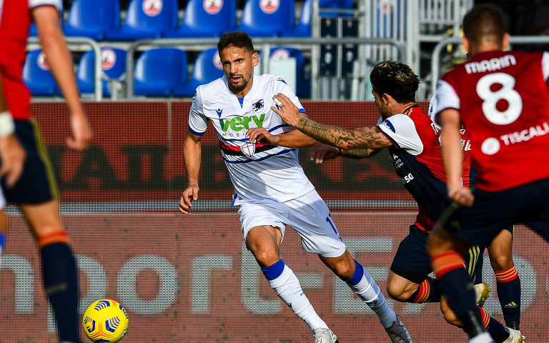 Cagliari cursed: Augello sent off and dubious penalty as hosts win 2-0