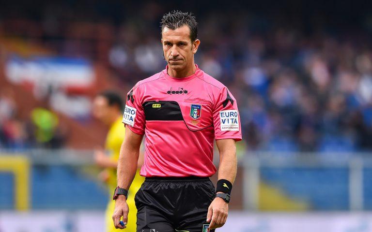 Arbitri: Torino-Sampdoria affidata a Doveri di Roma 1