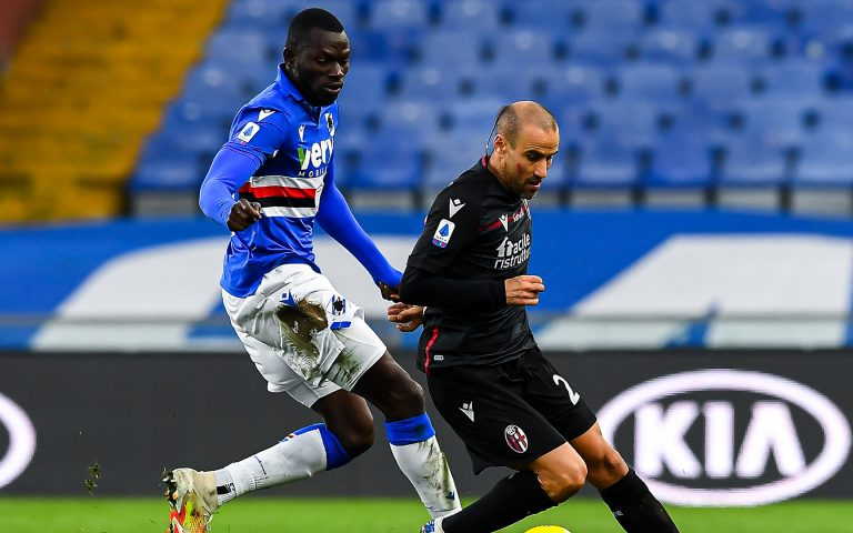Sampdoria v Bologna highlights