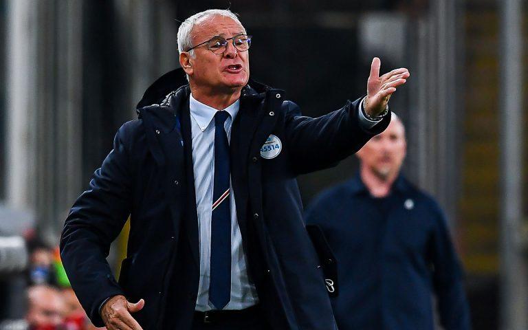 Ranieri: «Un punto in cascina, noi meglio nel secondo tempo»