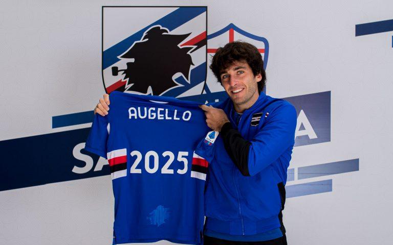 Augello pens new deal until 2025
