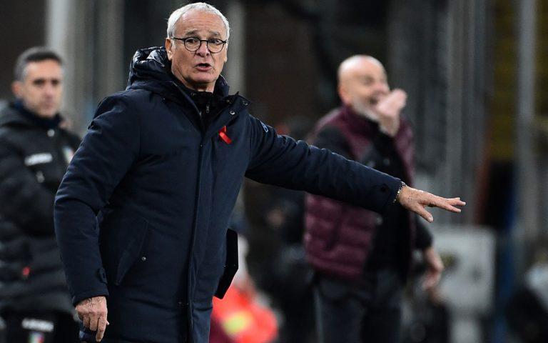 Ranieri: «Ripartiamo dalla reazione del secondo tempo»