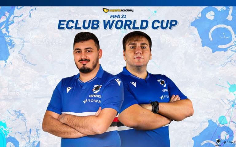 FIFA eClub World Cup: il team di Sampdoria eSports