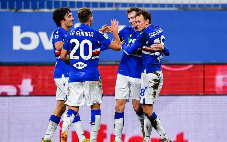 Samp win again: 3-1 against Crotone