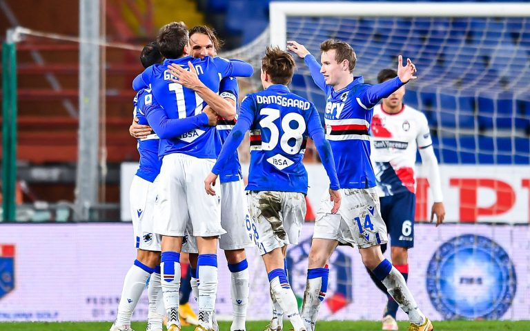 Serie A TIM, Sampdoria-Crotone: la fotogallery
