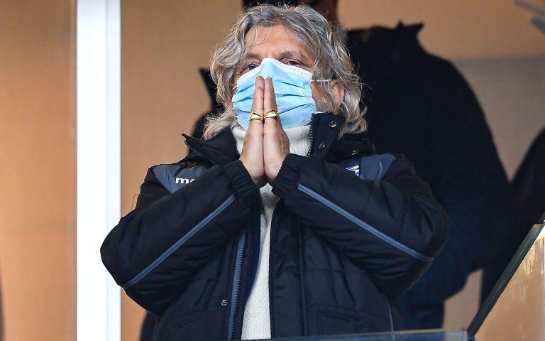 Il presidente Ferrero: «Rispetto per la Sampdoria»