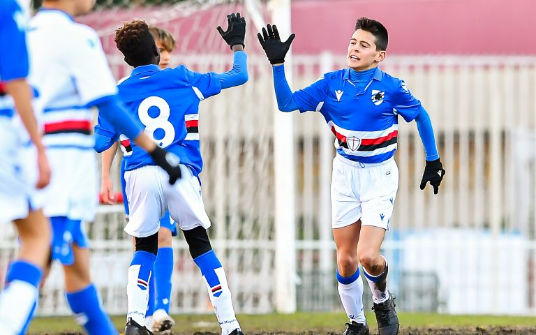 Ritorno al gol: partitella in famiglia per U14 e U13