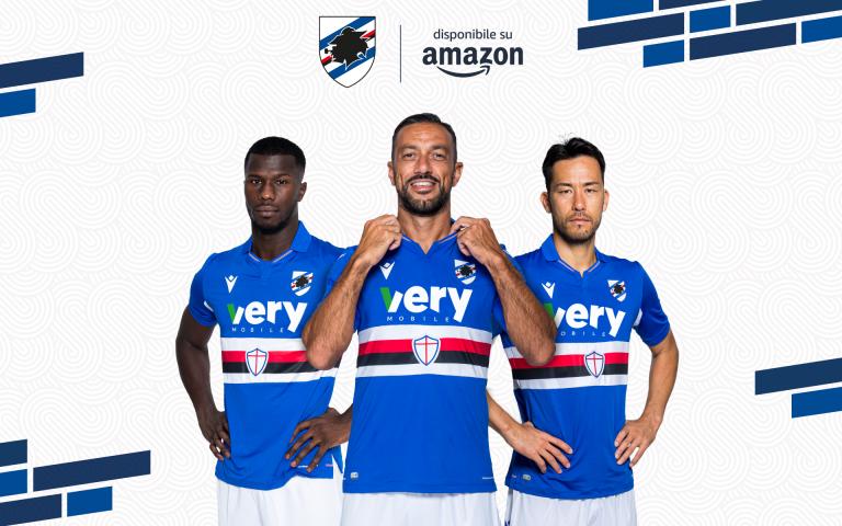La Sampdoria su Amazon: online il nuovo Brand Store