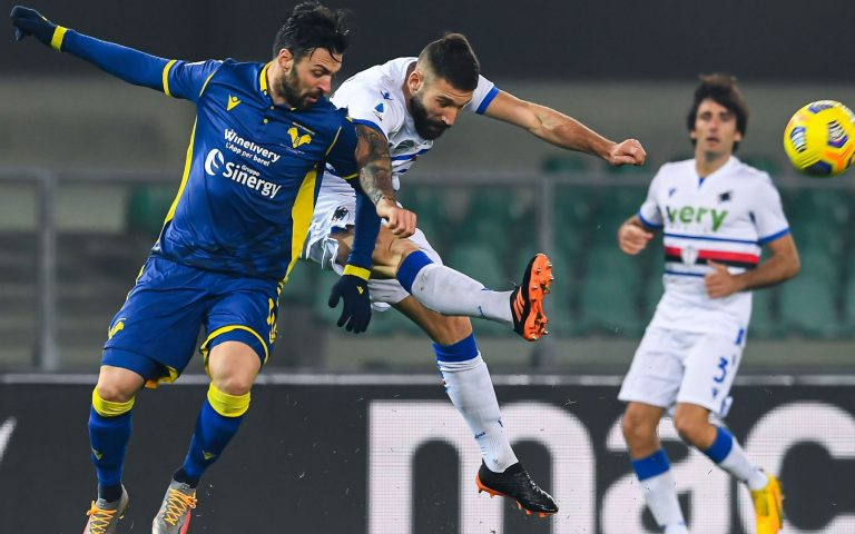 Hellas Verona v Sampdoria highlights