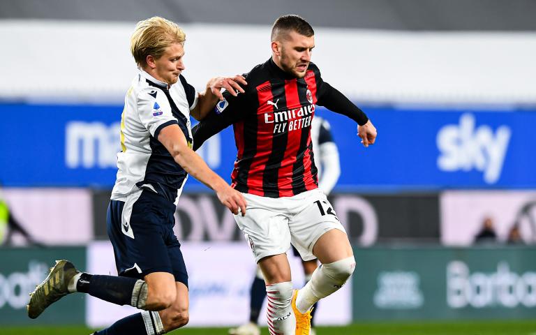 Sampdoria v Milan highlights
