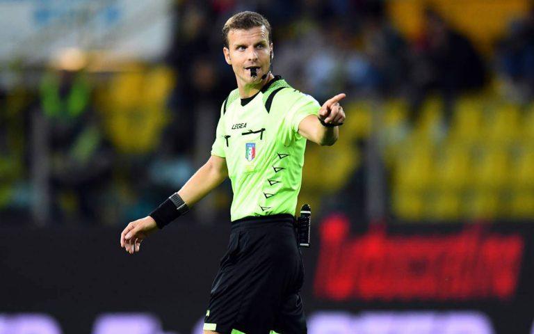 Arbitri: Napoli-Sampdoria affidata a La Penna di Roma 1