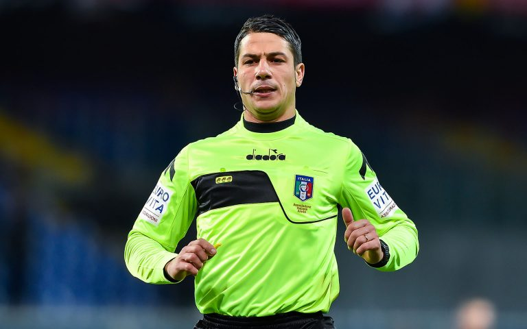 Arbitri: Sampdoria-Crotone affidata a Manganiello di Pinerolo