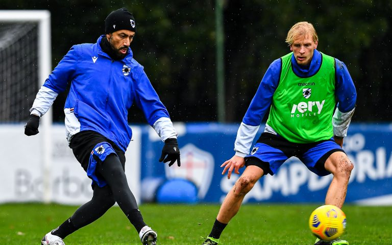 Training resumes in two groups, morning session on Friday ahead of Crotone
