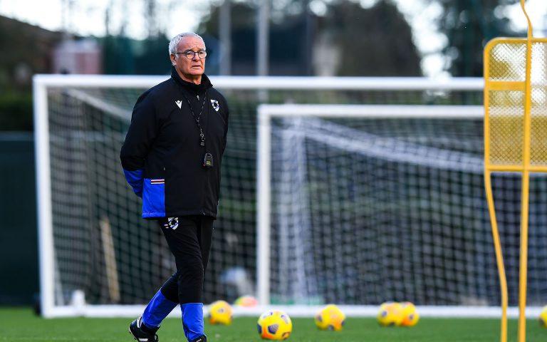 Ranieri calls for compact, fearless Samp against AC Milan