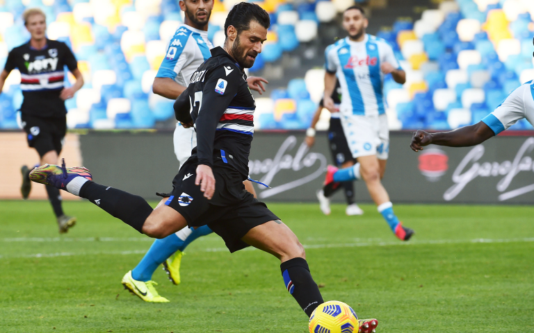 Napoli roar back after Jankto opener to claim victory