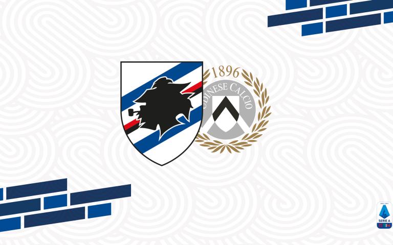 Opta Sports: il match program di Sampdoria-Udinese
