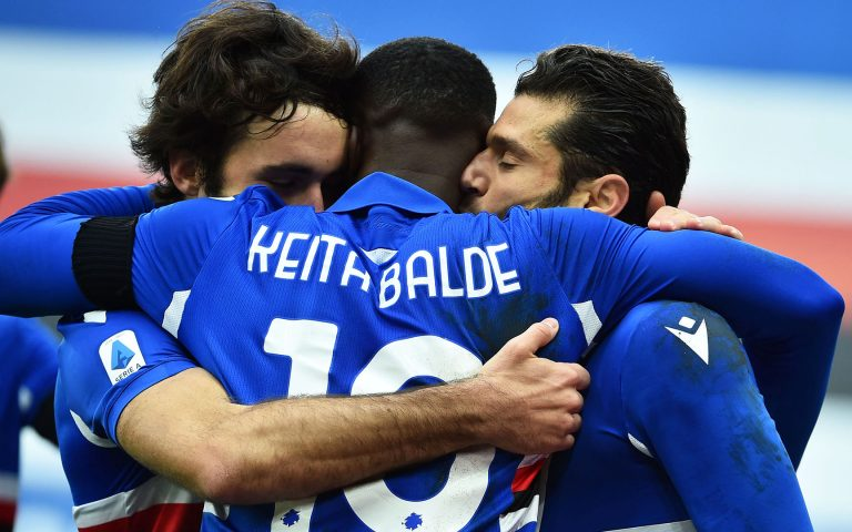 Super Samp down Inter thanks to goals from Candreva and Balde