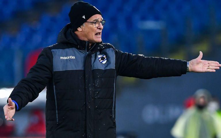 Ranieri: «Abbiamo cercato il pari fino all'ultimo minuto»