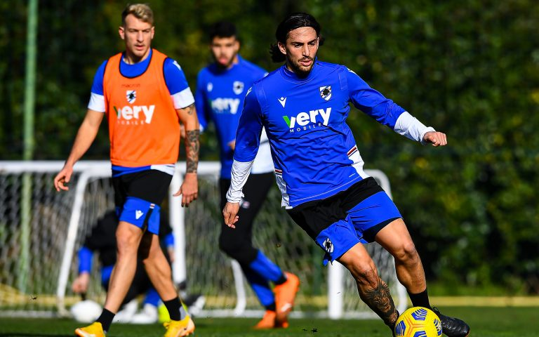 Training resumes in two groups, first session for new boy Torregrossa