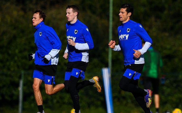 Samp kick off Spezia build-up following Inter triumph