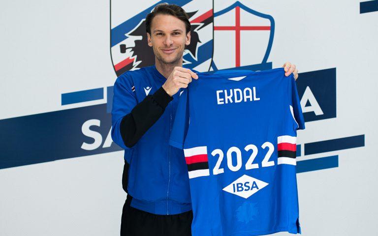 Ekdal extends Sampdoria contract through to 2022