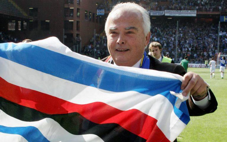 Sampdoria mark eight years since Garrone passing