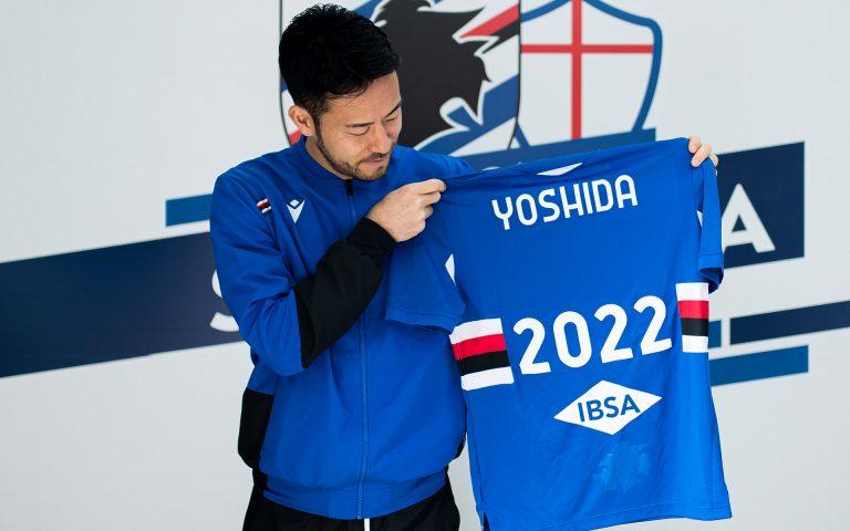 Yoshida rinnova: sarà blucerchiato fino al 2022