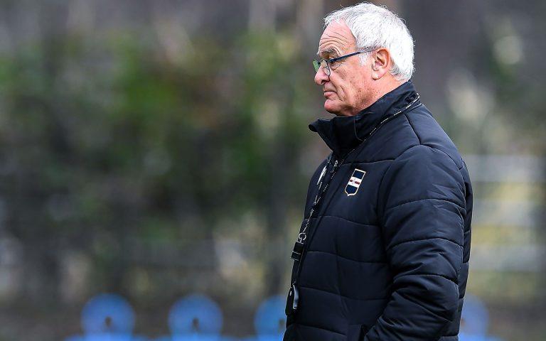 Ranieri e l'Atalanta: «Come sempre la Samp venderà cara la pelle»