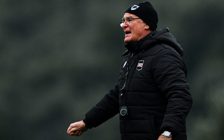 Ranieri: «Con la Fiorentina ritroviamo lo spirito Samp»