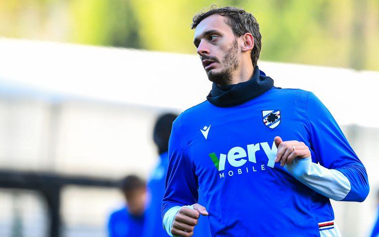 Gabbiadini back in training as Fiorentina prep begins