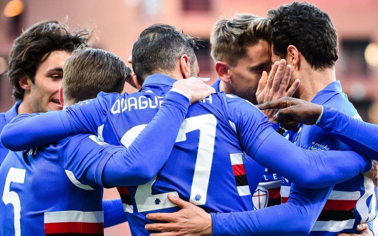 Balde-Quagliarella e la Sampdoria va, Fiorentina k.o.