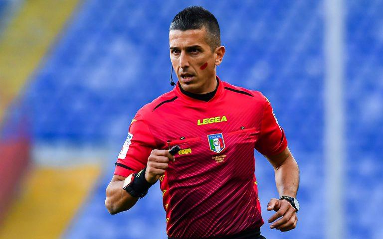 Arbitri: Sampdoria-Atalanta affidata a Marinelli di Tivoli
