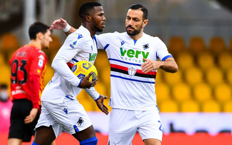 Samp held by Benevento as Balde cancels out Caprari opener