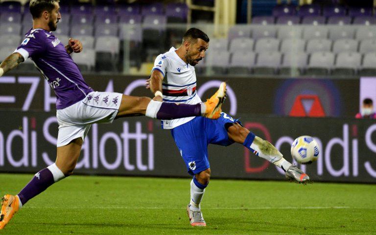 Ventitré blucerchiati per la Fiorentina: c'è anche Gabbiadini
