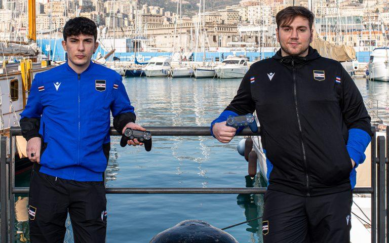 Segui Sampdoria eSports all'esordio nella eSerie A TIM