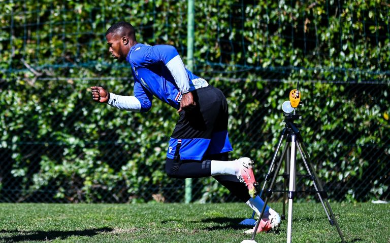 Mapei tests as training resumes in Bogliasco