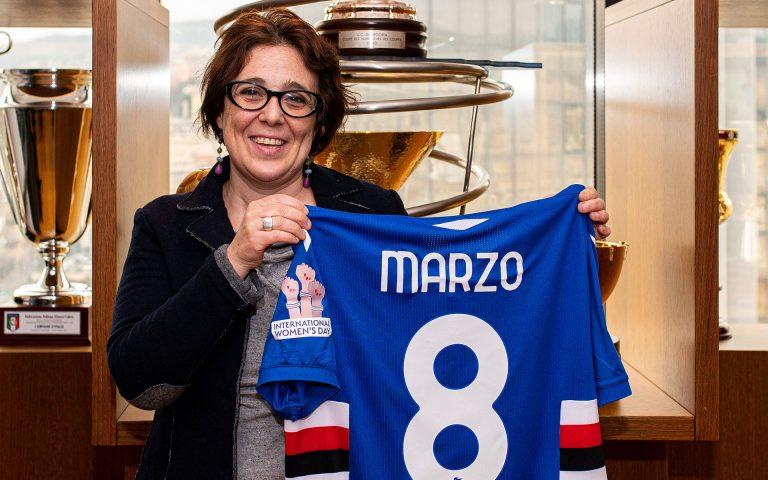 L'8 marzo con il Centro Mascherona: «Grazie Sampdoria»