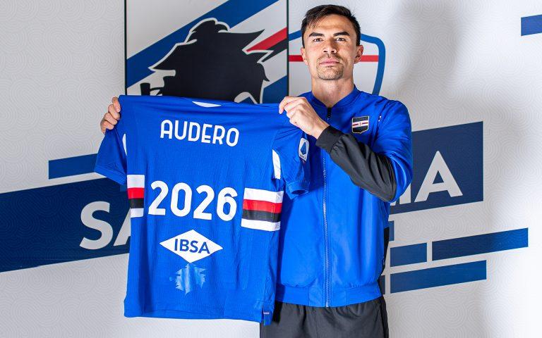 Audero rinnova con la Sampdoria fino al 30 giugno 2026