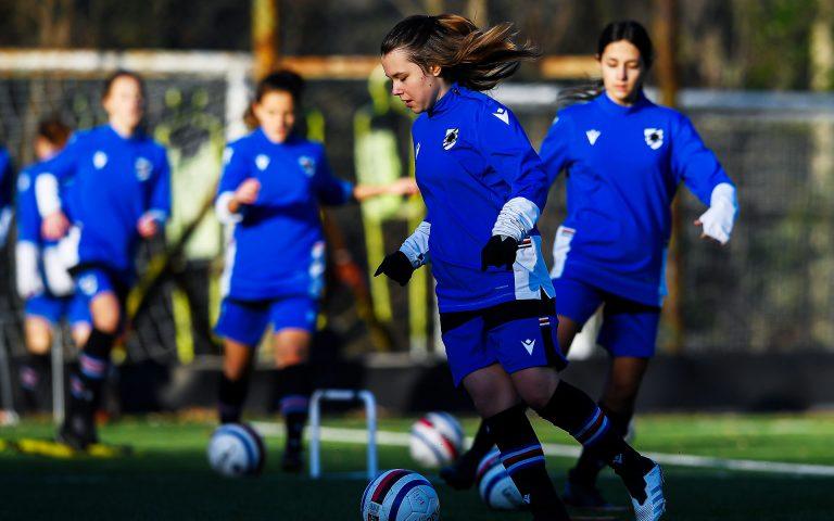 La Sampdoria U19 Femminile è pronta scendere in campo